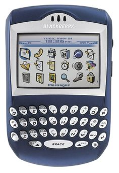 """Blackberry - My 1st """"Smart Phone"""" ~ had it for work!"""