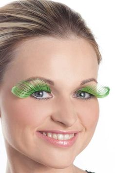 Green Candy Apple Eyelashes repinned for your enjoyment by http://Apple-of-My-i.com