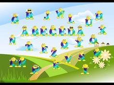 (101) Abeceda - ve verších - všechna písmenka - učíme se abecedu - pro děti - česky - s hudbou - YouTube