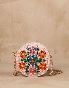 Crystal and raffia glam bag Women - Bags Women on Dolce&Gabbana Online Store Australia - Dolce & Gabbana Group