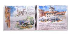 Robin Poteet: My Italy Sketchbook
