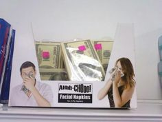 Financial napkins. Who wouldn't want these?