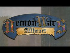 DemonWars: Allheart's video poster.  A worthy one to back.
