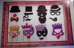 Pack para photocall máscaras de carnaval por Marcosphotocall, €33.99