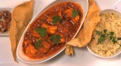 This Prawn Curry Recipe is one of those that saw Deena Naidoo sweep through the early rounds of MasterChef SA. Jeera Rice, Prawn Curry, Garlic Paste, Curry Powder, Curry Recipes, Coriander, Thai Red Curry, Seafood, Favorite Recipes
