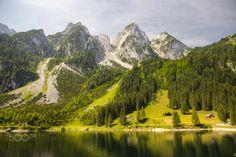 Gosaukamm © Béla Török    Vorderer Gosausee, Austria