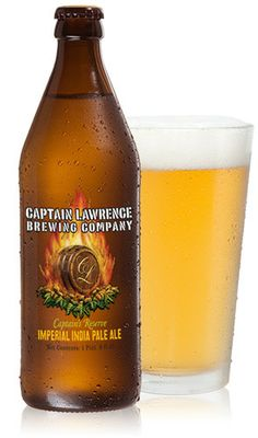 Imperial IPA - Captain Lawrence beers are craft brewed in Elmsford, New York.