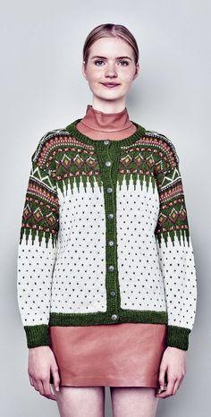 Bilderesultat for kofte Etnic Pattern, Norwegian Knitting, Fair Isle Knitting Patterns, Knitting Projects, Clothing Patterns, Color Combinations, Winter Outfits, Knit Crochet, Men Sweater