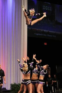toe touch basket... Found this out of random! JENSEN'S BASKET FROM WORLDS LAST YEAR! love her(: