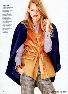 Marloes Horst for Glamour USA (October 2013) - http://qpmodels.com/european-models/marloes-horst/2698-marloes-horst-for-glamour-usa-october-2013.html