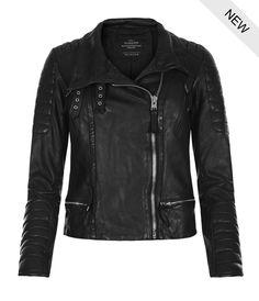AllSaints Canada Steine Biker Jacket | Womens Biker Jackets