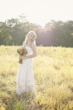 Such a pretty bride!