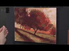 How to Paint Landscape Art in Pastel -- Preview - YouTube