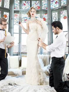YolanCris 2013 Preview Spring Summer Bridal Collection « Fashionbride's Weblog