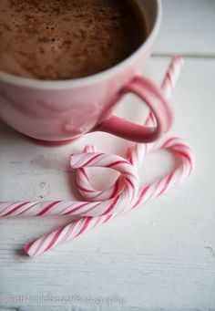 Candy canes and cocoa