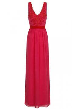 Little Mistress By Look Red Maxi Dress, £70