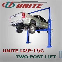Twin Post Auto Lift for Maximum Strength - lb Capacity Two Post Lift, Auto Lift, Lifted Cars, Twin, Strength, Garage, Tools, Carport Garage, Instruments