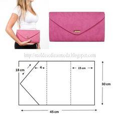 New sewing purses clutch handbags Ideas Diy Clutch, Diy Purse, Clutch Purse, Diy Fashion, Ideias Fashion, Fashion Purses, Fashion Bags, Fashion Accessories, Leather Bag Pattern
