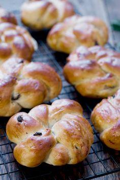 Kløbensnurre, swedish buns