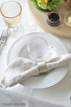 Table Decorations / Table SettingsLSAのテーブルウエアでコーディネート♡|フローラルニューヨーク・大塚智香子のスタイルのある暮らし|25ansオンライン