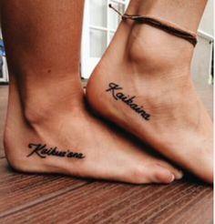Hawaiian sisters tattoo! I love it!!