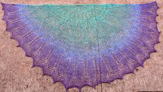 Ravelry: Rose Window Shawl pattern by Liz Capik