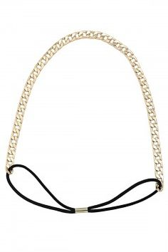 Gold Chained To You Hairband