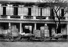 Red Cross store room, Manila, Philippines. 1924