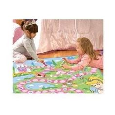 "DISNEY PRINCESS GAME RUG 40""x40"" #GAGertmenianSons"