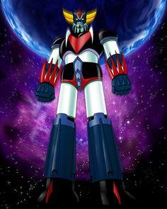 Goldorak Mecha Anime, Robot Cartoon, Cartoon Art, Baymax, Ulysse 31, Tarot, Japanese Superheroes, Spiderman, Super Robot