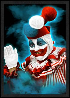 John Wayne Gacy is Card Number 17 from the New Serial Killer Cards by SerialKillerBiz on Etsy