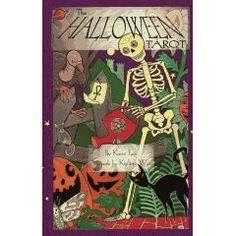 The Halloween Tarot deck - very charming.