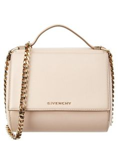 8f41b817bb GIVENCHY GIVENCHY MINI PANDORA BOX LEATHER CHAIN BAG.  givenchy  bags   leather
