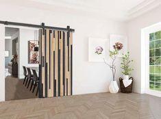 BRAGI: Μηχανισμός για συρόμενες  ξύλινες  πόρτες αχυρώνα έως 80 kg. από Vialex Hellas Sliding Barn Door Hardware, Loft, Doors, Furniture, Home Decor, Decoration Home, Room Decor, Lofts, Home Furnishings