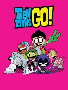 Teen Titans Go! is an animated series based off the original 2003 series on Cartoon Network. The voice actors of the original reprise their roles. The series focuses on the Teen Titans when they are not saving the world. Cartoon Tv, Cartoon Shows, Cartoon Characters, Raven Teen Titans Go, The New Teen Titans, Go Wallpaper, Cartoon Wallpaper, Geeks, Desenhos Cartoon Network