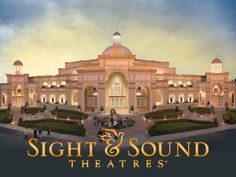 Sight and Sound Theater production in Lancaster PA. We saw the creation Drama, it was incredible. Wish i could see Noah's Ark, Joseph, and Daniel in the Lions Den!  ~ Maybe some day....