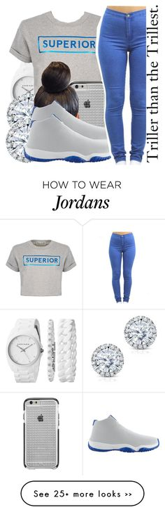 """"""""""" by missy143lol on Polyvore featuring Anne Klein, Être Cécile, Case-Mate, Kobelli and NIKE"""