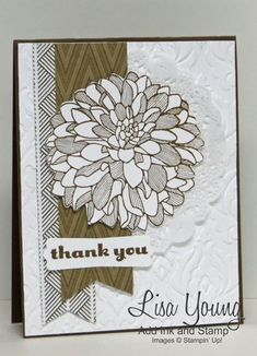 Single Dahlia by genesis - Cards and Paper Crafts at Splitcoaststampers