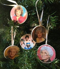 Golden Girls Ornaments