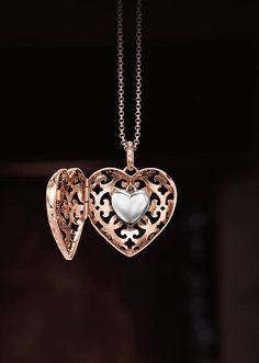Thomas Sabo - Secret Hearts!- glass heart with some other shape around it. It's got to be disguised.