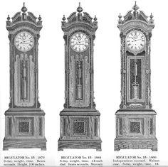 vintage grandfather clock drawing - Google Search
