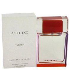 Chic by Carolina Herrera Eau De Parfum Spray (Tester) 2.7 oz - Natural Peach naturalpeach.com