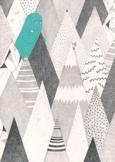 Los Exploradores de Adviento by Leire Salaberria, via Behance