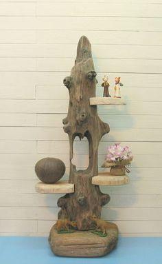 流木インテリア飾り棚 - 流木アートのレットイットビー