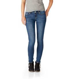 Lola Core Medium Wash Jegging - Aeropostale These jeans are supper cute