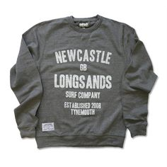 Newcastle Surf Sweat Light Grey