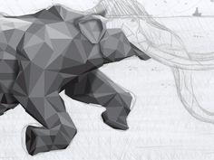 I've come to really like polygonal designs like this
