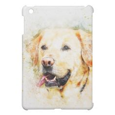 #Colorful Labrador Retriever iPad Mini Cover - #labrador #retriever #puppy #labradors #dog #dogs #pet #pets