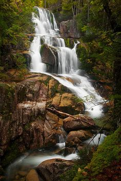 "Water is the driving force of all nature.  ~ Leonardo da Vinci Photo: Brian Rutolo ""Joe's Falls"" - Mt. Katahdin | Flickr - Photo Sharing!"