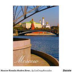 Moscow Kremlin Moskva River City Architecture Postcard City Architecture, Landscape Architecture, Moscow Kremlin, Your Image, Looks Great, Magnets, River, Prints, Posters
